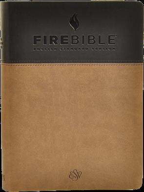 ESV Flexisoft Fire Bible | Fire Bibles for Prisoners
