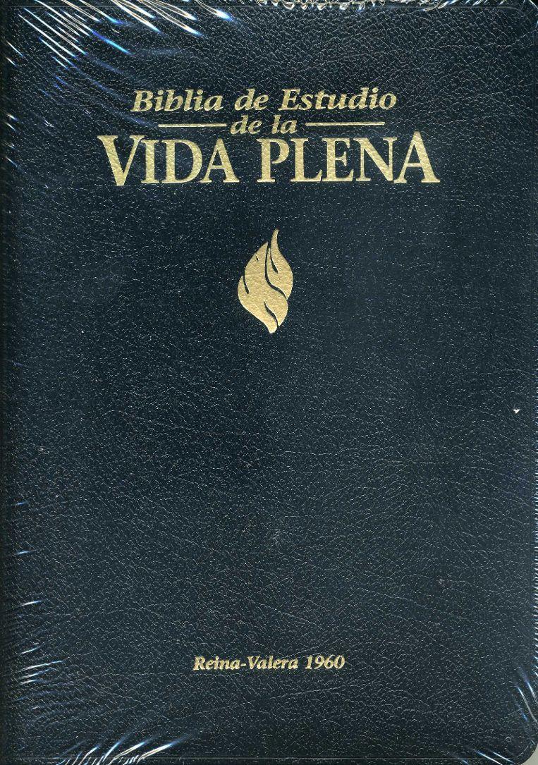 Biblia de Estudio de la Vida Plena | Spanish Study Fire Bible