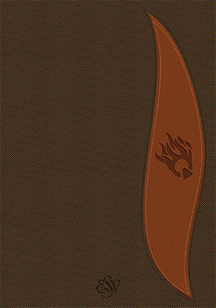 Student Fire Bible | ESV Study Bible Student Brown Flexisoft